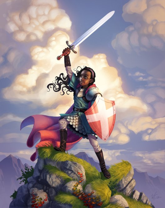 """Qavah the Brave"" by Wes Talbott"