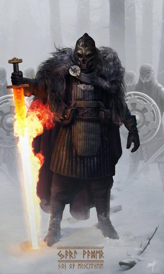 Jarl Vader, Son of Muspelheim by Nicolas Lizotte