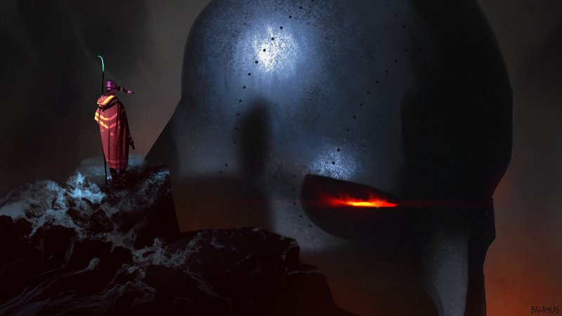 Iron Golem by Christopher Balaskas. Click here for more of the artist's work!