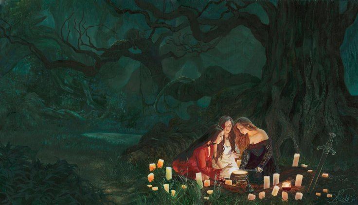 Candlelight by Alessandra Pisano. Click here for more of the artist's work!