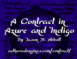 A Contract in Azure and Indigo