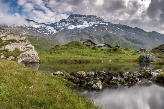'Late Summer on Engstligenalp' by Patrik Oberlin. Photo taken near Adelboden, Switzerland. Click here for more of the photographer's work!