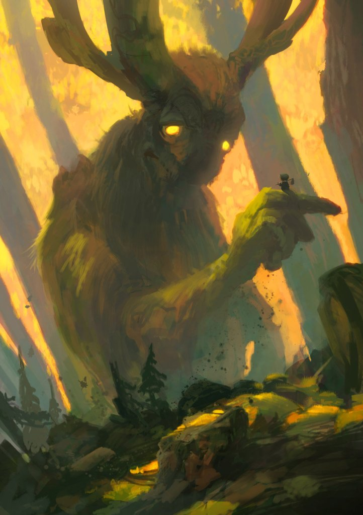 Forest Spirit I by Tuomas Korpi. Click here for more of the artist's work!