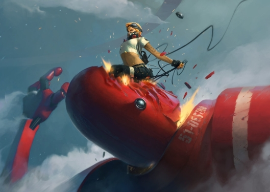 Kick by Johan Wahlbäck. Click here for more of the artist's work!