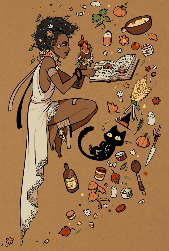 kitchen witchery by kadabura click here for more of the artists - Kitchen Witchery