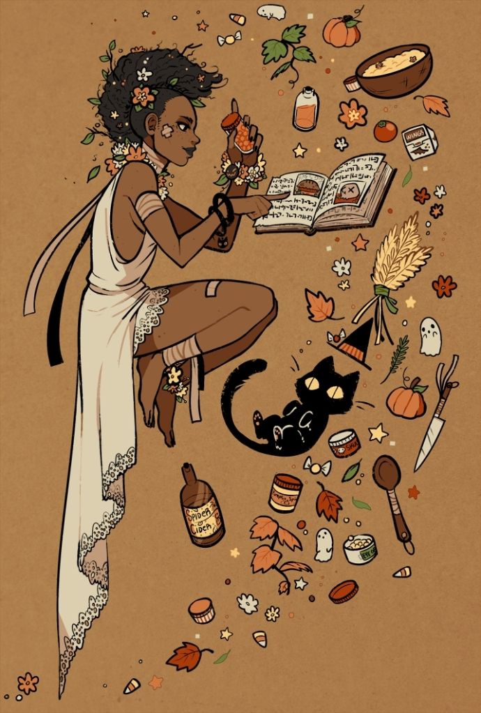 """""""Kitchen Witchery"""" by KADA☆BURA. Click here for more of the artist's work!"""