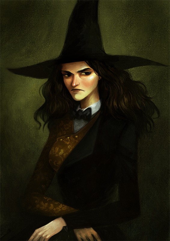 Young Witch by Caroline Hirbec.
