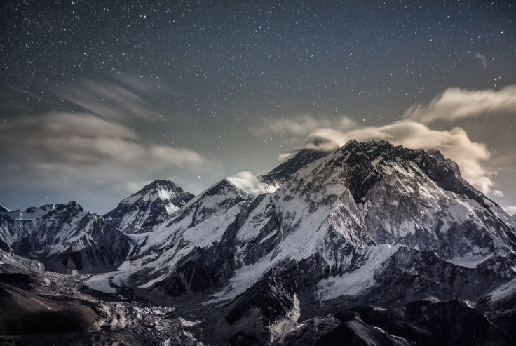 Mount Everest from the Ridge of Lobuche Peak' by Renan Ozturk.