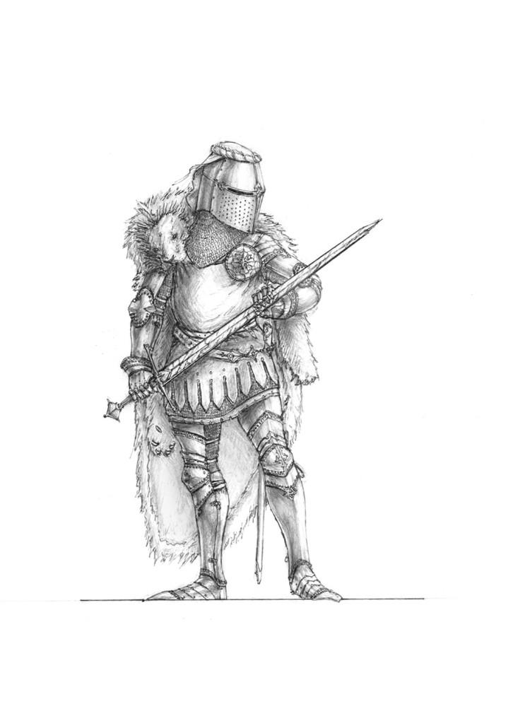 Rurrn, Hero of Korthrin by 'DLMortarion'