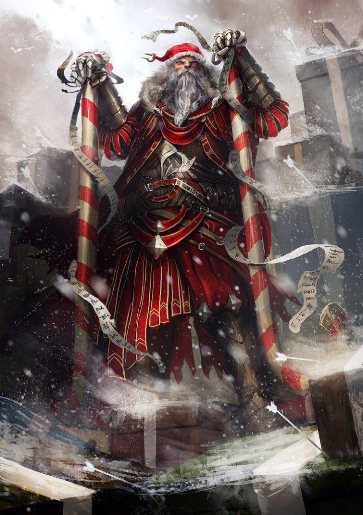 Santa's Pissed by Daniel Kamarudin.