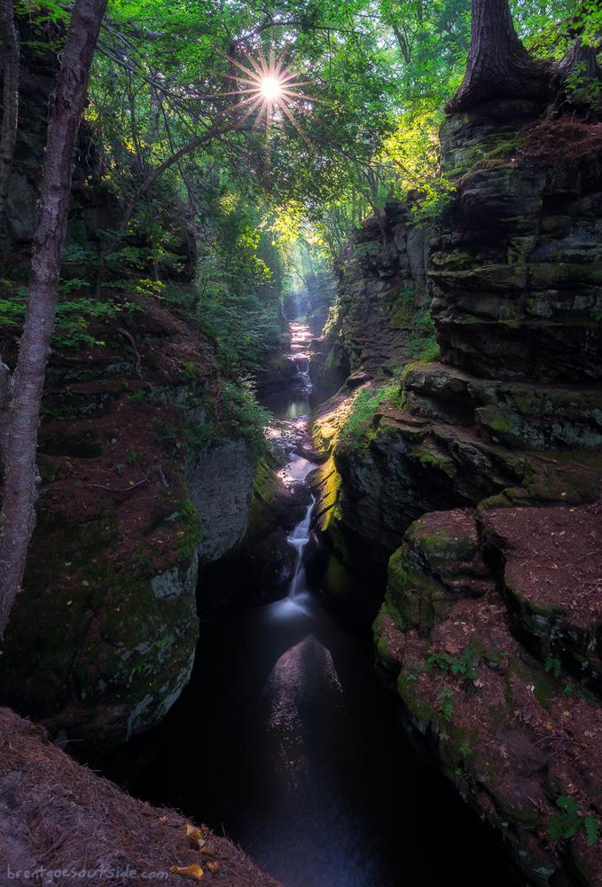 Waterfalls of Skillet Creek by Brent Clark.