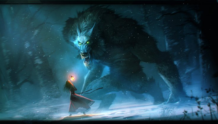 Werewolf by Aleksandr Nikonov