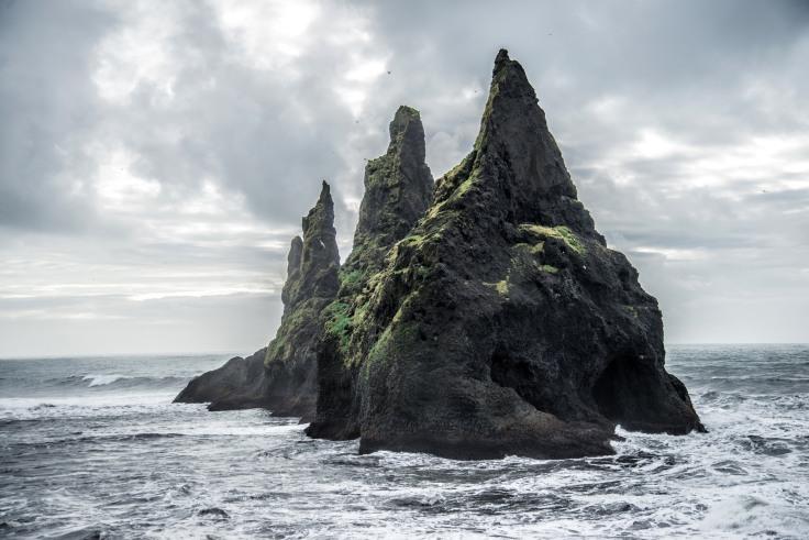'An Icelandic Seastack' by Romain Ribaud