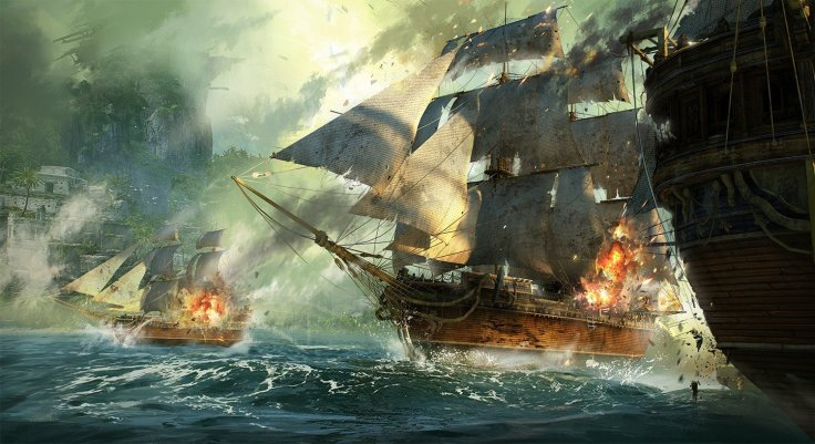 Sea Warfare by Cai Shuisong
