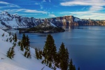 Crater Lake and Wizard Island by Cole Chase Photography