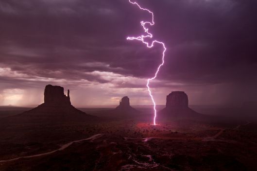 'Storm Over Monument Valley' by Pat Trojnar