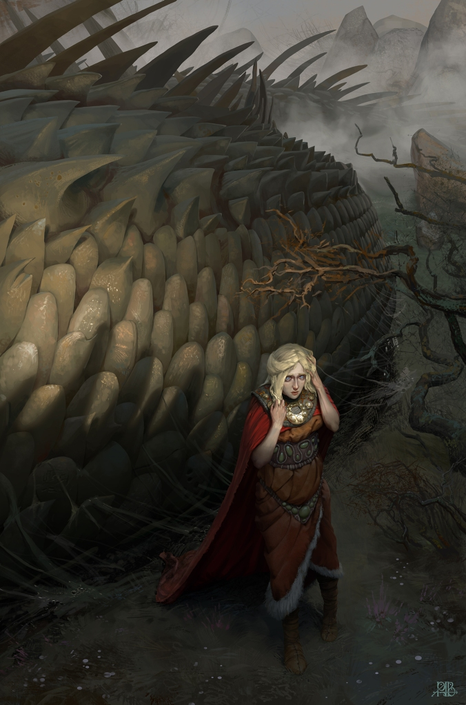The Glance of Glaurung by Alexey Rudikov