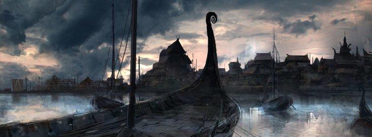 Viking Metropolis by Klaus Wittmann.