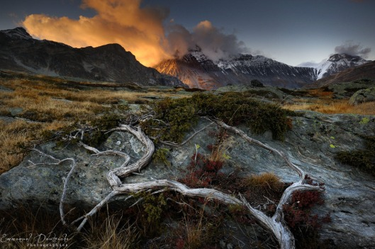 Burning Clouds by Emmanuel Dautriche