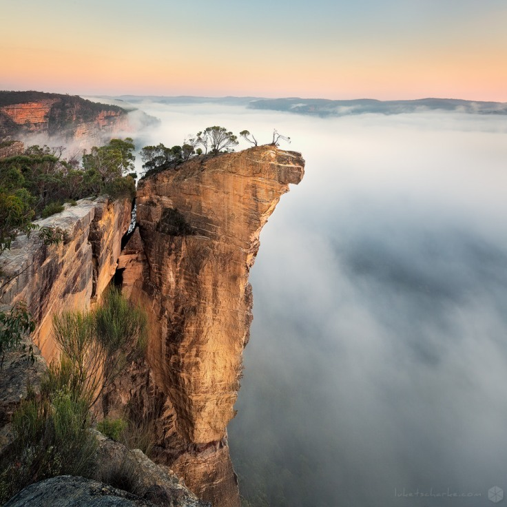 Sunrise at Hanging Rock by Luke Tscharke