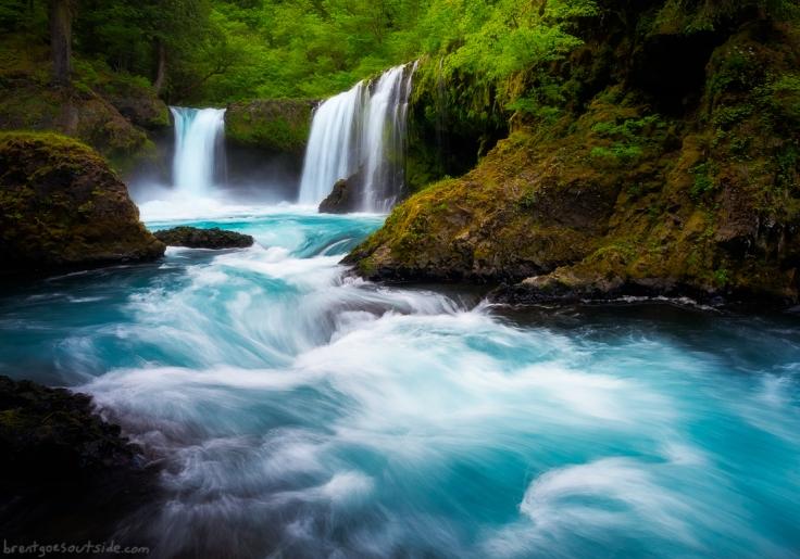 'Spirit Falls, Oregon' by Brent Clark