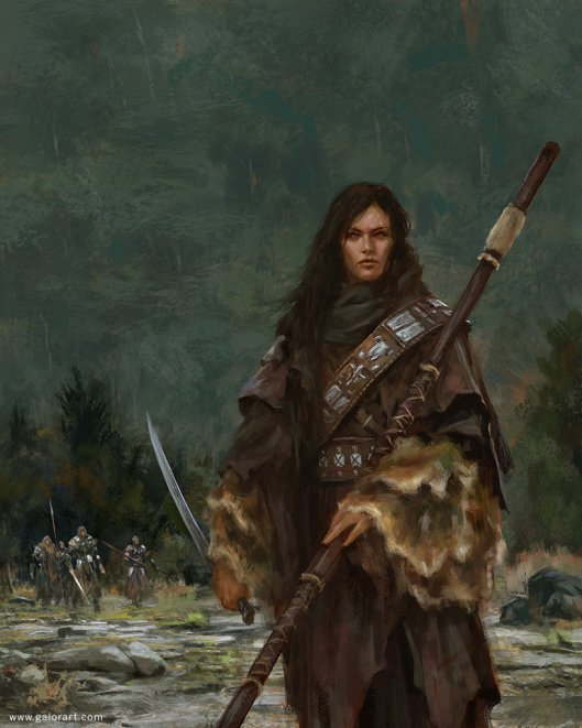 Warrioress by Gal Or