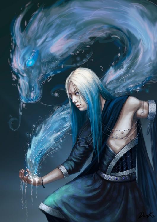 Water Mage by Karista Dark