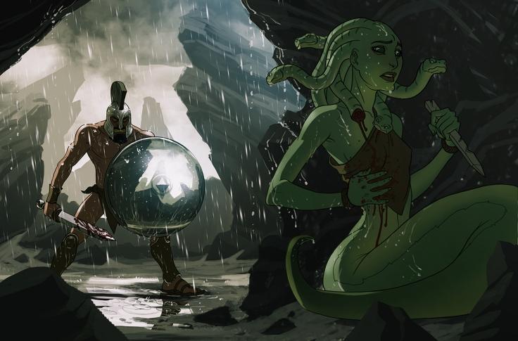 Medusa as Protagonist by Matt Rhodes