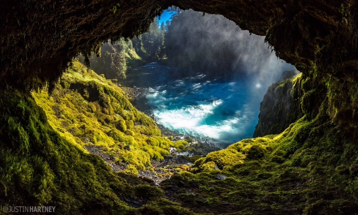 Inside the Cave by Justin Hartney.
