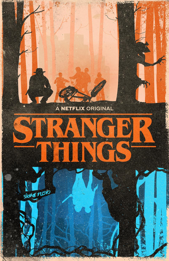 'Stranger Things' (Fan-Art Poster) by J Caleb Design