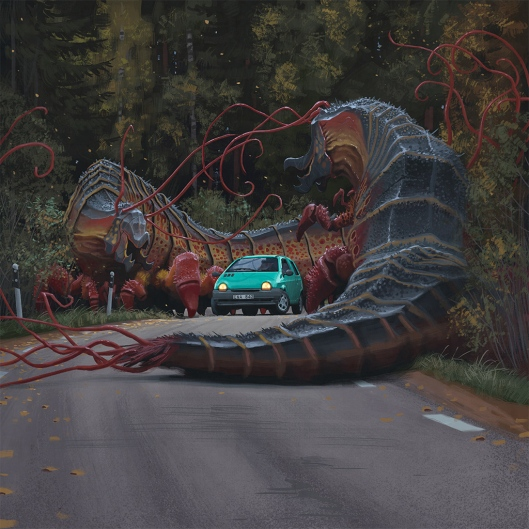 'Invasive' by Simon Stålenhag