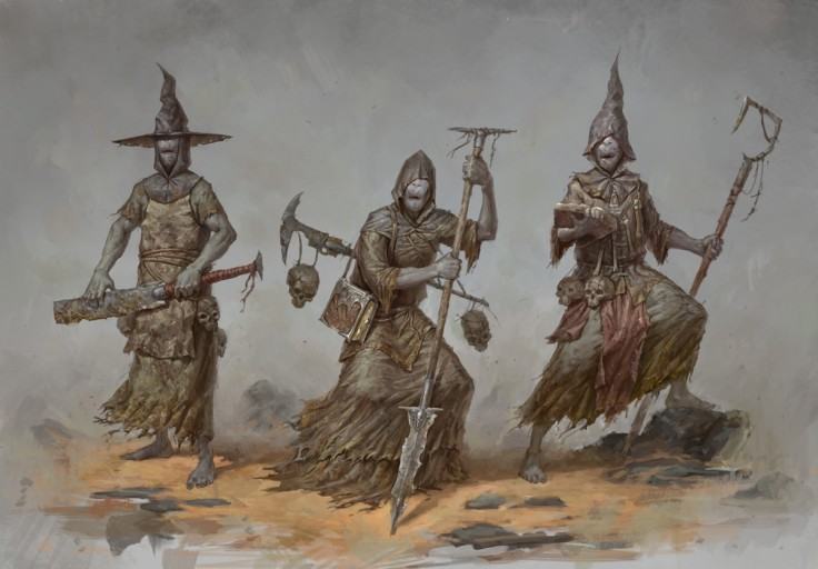 Warlocks by Bogdan Rezunenko