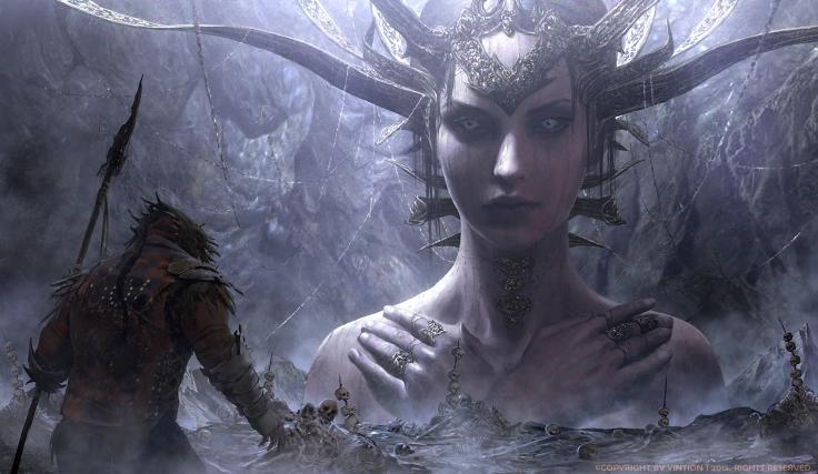 Goddess by Yintion J