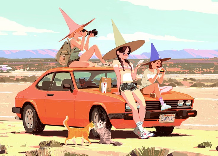 Witch Road Trip by Woonyoung Jung