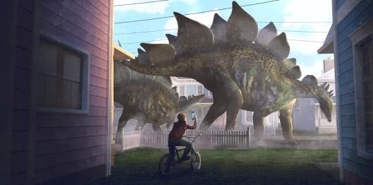 Stegosaurus by Guillem H. Pongiluppi