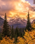 'Alpenglow Sunset' by Nate Luebbe