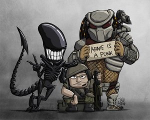 Aliens vs. Predator Group Photo by Josh Ng