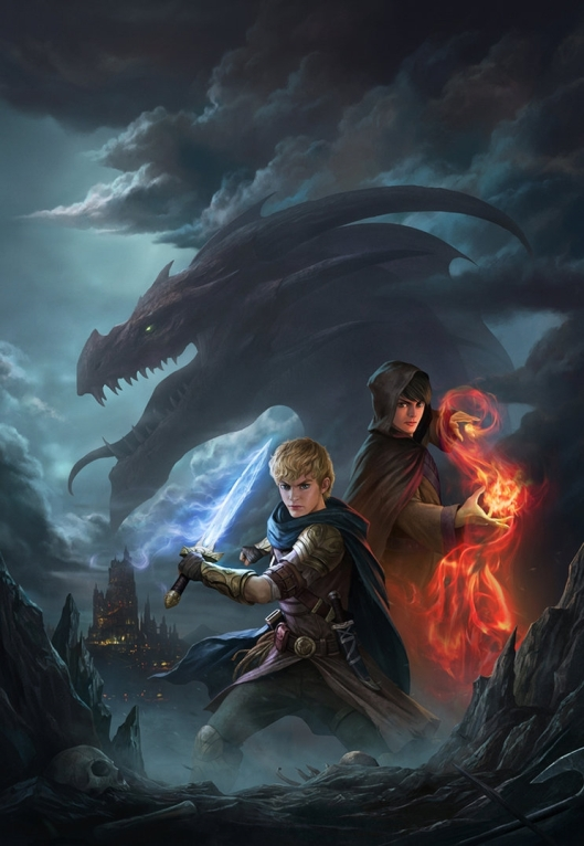 The Dragon Hunter And The Mage by Yin Yuming