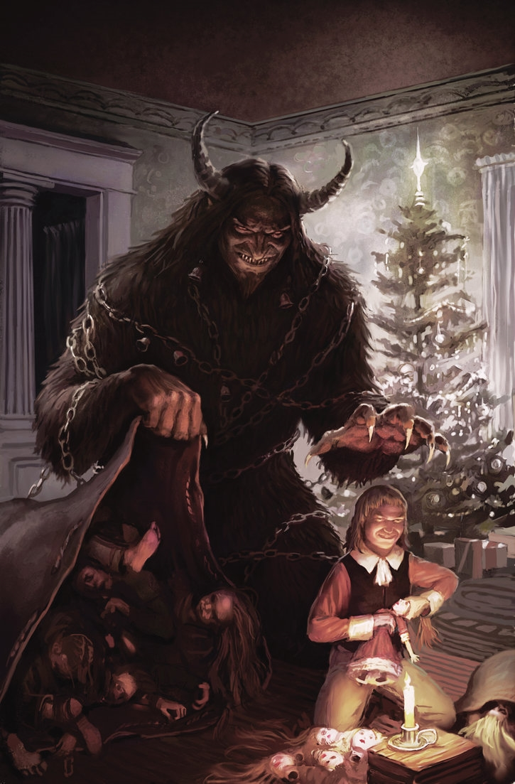 Art Tastic Tuesday A Krampus In My Stylus By Jeff Lee