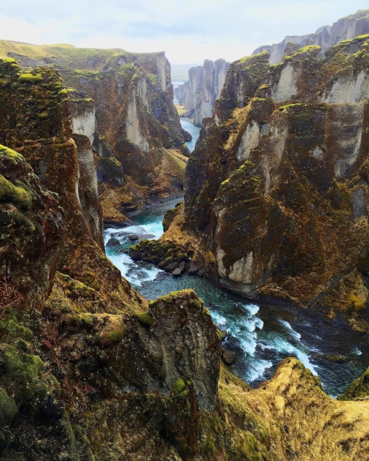 Fjaðrárgljúfur, Iceland (Photographer Unknown)