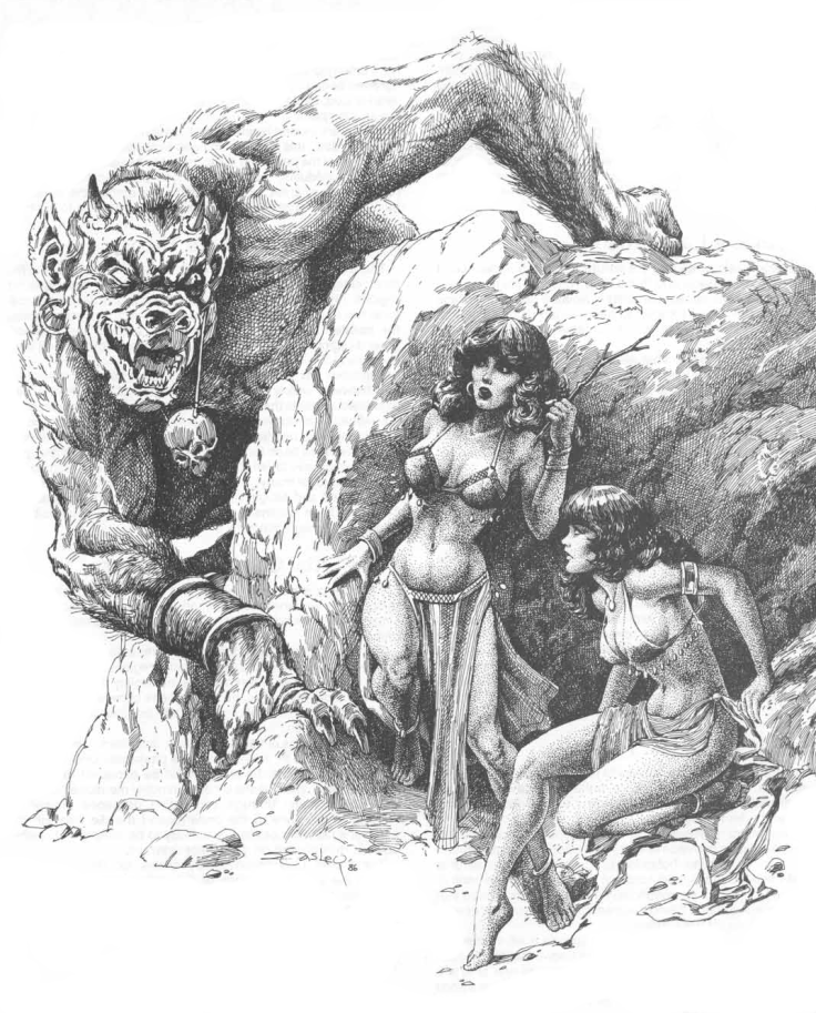 Untitled Illustration by Jeff Easley