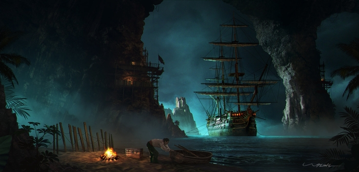 Pirate Cove by Andy Walsh