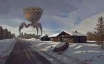 A Quiet Winter by Ryan Van Dongen
