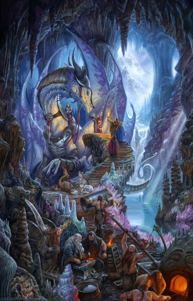 Dragonforge by Matthew Stewart