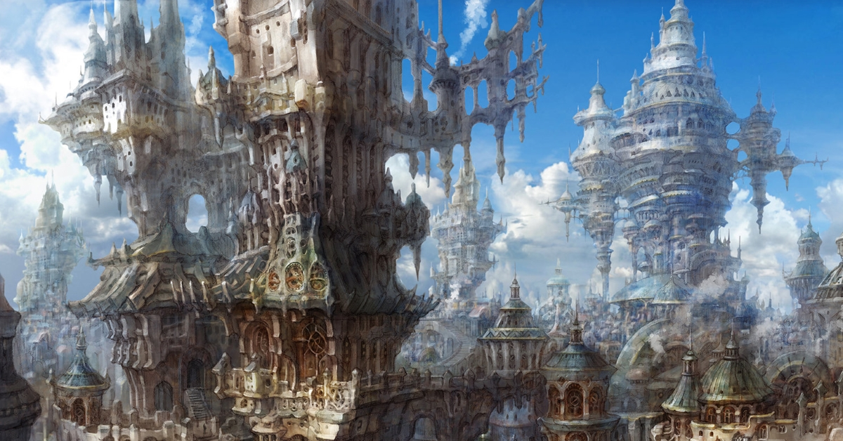 Art-Tastic Tuesday: Old City, by Min Seub Jung