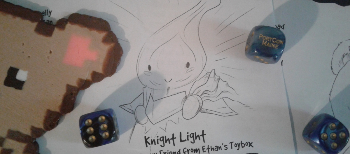Toys Against Darkness Character Art