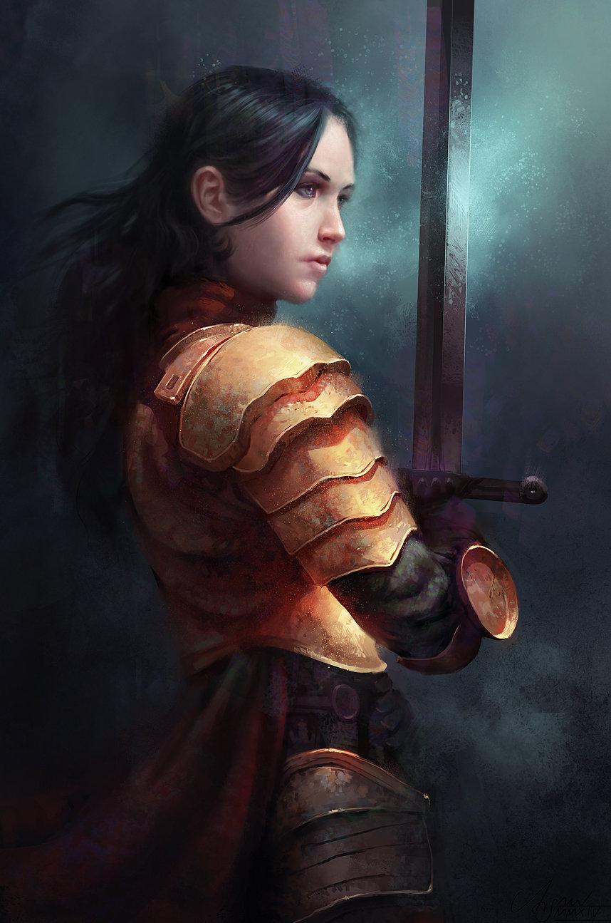 Fantasy Art: Heroine, by René Aigner
