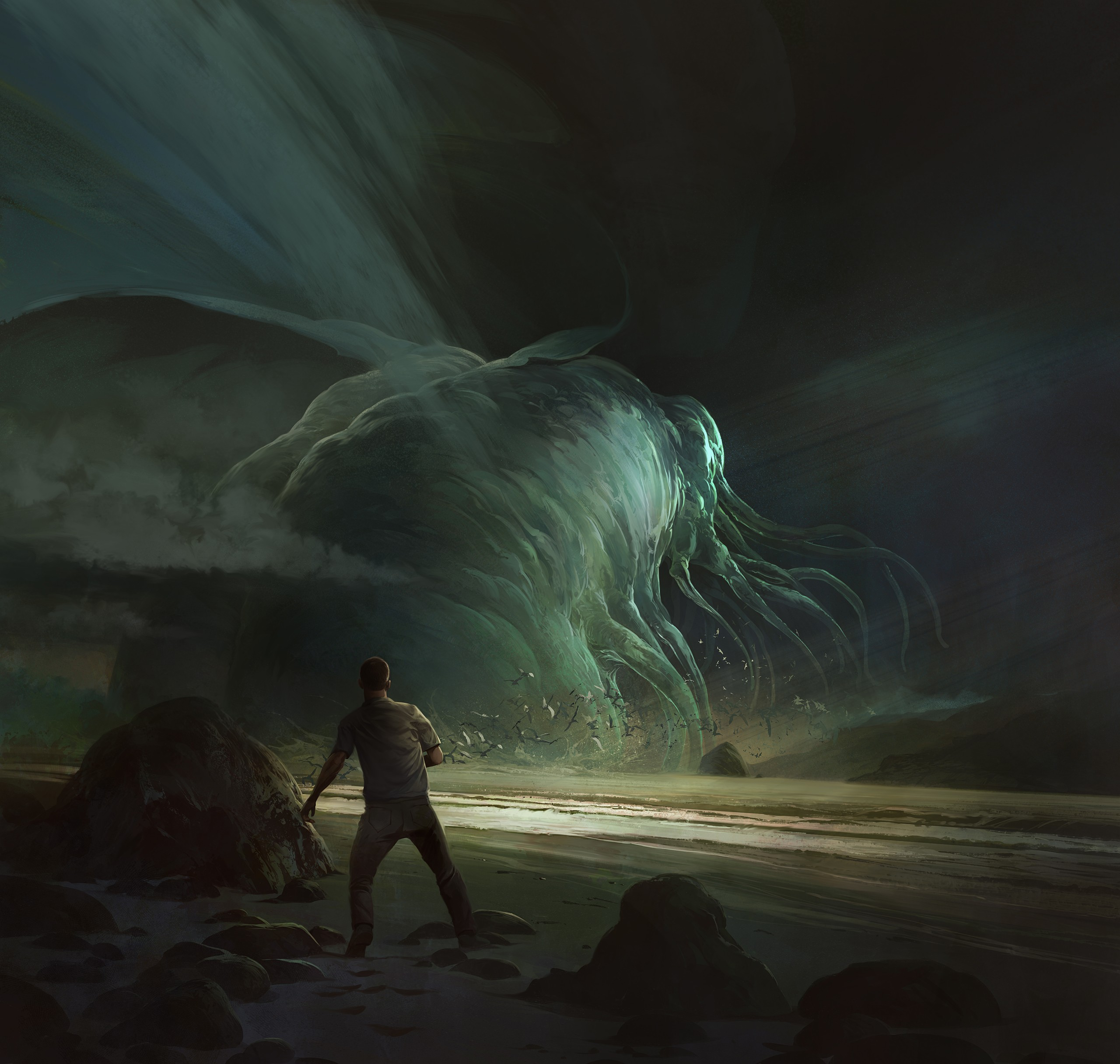 Art Macabre: From the Deep, by Christian Bravery
